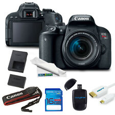 Canon EOS Rebel T7i DSLR Camera with 18-55mm Lens + Expo Starter Series