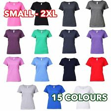 Gildan GD079 - Softstyle® women's deep scoop t-shirt - S-2XL - lot