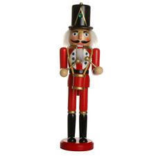 Xmas Ornament Decor Wooden Soldier Drummer Santa Claus Pirate Captain Nutcracker