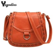 New women hollow out crossbody bags girl vintage bag postman purses shoulder bag