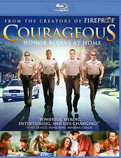 Courageous (Blu-ray Disc, 2012) Brand New