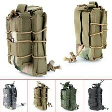 Tactical Military Open Double Rifle and Single Pistol Magazine Pouch Bag Great
