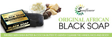 Original African BLACK SOAP WITH SHEA BUTTER COCOA BUTTER (Choose from 6 Scents)