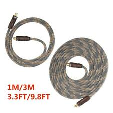 High Quality 3.3/9.8ft Digital Toslink Optical Audio Cable OD 6.0 For CD TV A0Y3