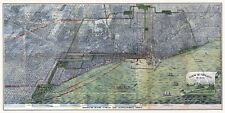 Chicago Illinois 1893 Bird's Eye Perspective Vintage Map Reproduction Poster