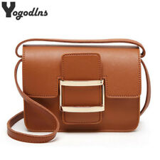 Women Leather Handbags Vintage Style Luxury Shoulder Bags Small Crossbody Bags