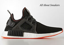 "ADIDAS NMD XR1 ""CONTRAST STITCH"" PACK ""Core Black-Solar Red"" BY9924 Limited Edit"