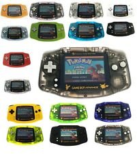 Gold Pokemon Game Boy Advance AGS-101 Backlight Backlit Screen GBA Game Console