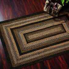 Black Forest Braided Area Rug By IHF Rugs. Oval & Rectangle. Many Sizes.