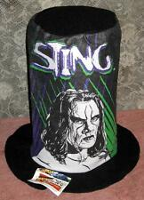 Lot of 5 WCW NWO Sting Wrestling Tall Stovepipe Hats Vintage NWT NOS 1998
