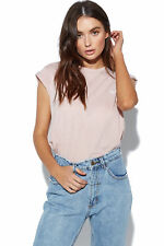 New LEE Womens No Brainer Tee Dusty Pink