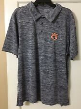 NWT  Auburn Tigers Space Dyed Polo SIZES L, XL AVAILABLE $50 NAVY BLUE
