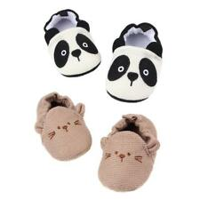 Toddler Infant Cartoon Shoes Knitted Cotton Prewalkers Baby Shoes 0-18M