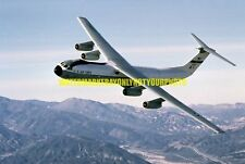 USAF Air Force Lockheed C-141B-10-LM Starlifter Aircraft Color Photo Military