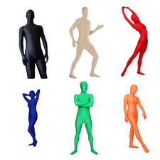Hot Full Body Lycra Spandex Skin Suit Catsuit Halloween Party Zentai Costumes