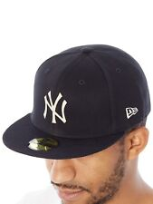 New Era Black-Optic White The Lounge 59Fifty - New York Yankees Fitted Cap