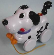 Navystar Barking Singing Spotted Puppy Dog Pull-Along Musical Toy