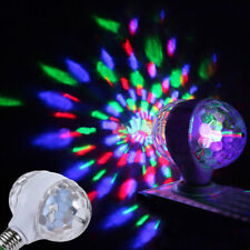 E27 6W Double-Headed Colorful Rotating Stage RGB LED Light Bulb Xmas Party Home