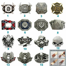 New Skull Firefighter Belt Buckle Boucle Mix Styles Choice also Stock in US