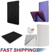 For Apple iPad 360° Rotating Magnetic Stand Back Case Stand Leather Cover