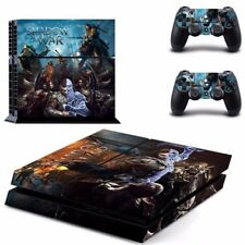 Middle Earth: Shadow of War PS4 Skin Sticker Decal Vinyl For Sony PS4