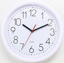 NEW Modern 10-inch Round Non-Ticking Silent Wall Clock Home Living Room Clock