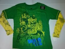 Cartoon Network Boys Ben 10 Ultimate Alien Shirt Long Thermal Tie Dye Sleeve 6-7