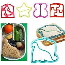 Cute Toast Cookie DIY Cutter Mold Cake Bread Maker Sandwich Mould Tool Kid UB