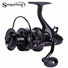 Carp Spinning Fishing Reels Left/Right Handle Metal Spool 12+1BB Stainless steel