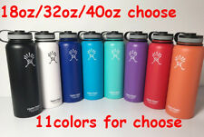 Hydro Flask 18oz/32oz/40oz Insulated Stainless Steel Water Bottle, Wide Mouth