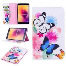 BF Folio PU Leather Case Cover Stand For Apple Samsung AmazonTablets Butterfly