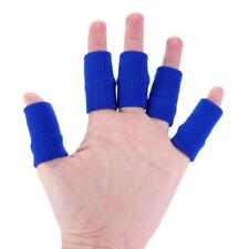 10PCS Sport Finger Bands Brace Support Sleeve Basketball Volleyball Soft RS