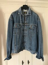 Vintage Lee Light Wash Denim Jacket, oversized women's M