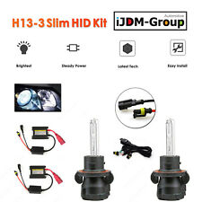 35W H13 Bi-xenon (High HID / Low HID) Premium HID Slim Kit 43K, 6K, 8K, 10K @