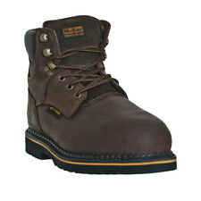 McRae Industrial Mens Brown 6in Steel Toe Metatarsal Guard Work Boots