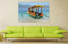 Canvas Poster Wall Art Print Decor Bali Boot Asia Travel Indonesia