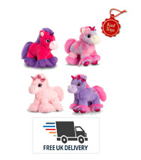 Keel Toys Glitter Gems Unicorn Cuddly Soft Plush Toy 18 cm Free UK Delivery