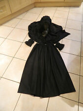 GIRLS/LADIES VICTORIAN MOURNER, WOMAN IN BLACK, HALLOWEEN COSTUME, FANCY DRESS