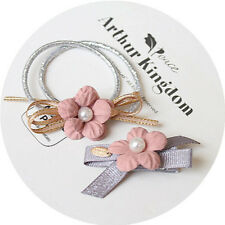 Flower Hair Rubber bands Hair Ring Rope Cloth Headbands Ties Hair Accessories