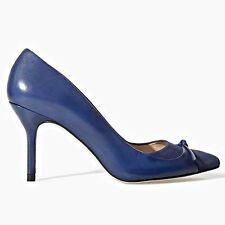 ZARA Blue Leather High Heel Court Shoes Woman Authentic BNWT RRP£59.99 2204/301