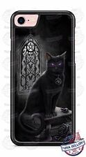 Halloween Scary Salem Black Cat Witchcraft magic Phone case for iPhone 7 6s etc