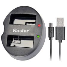 Kastar Dual USB Charger for Canon LP-E6 LP-E6N LPE6 LPE6N LC-E6