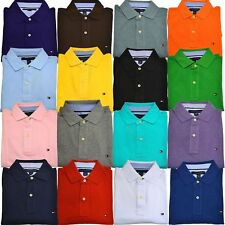 Tommy Hilfiger Polo Shirt Mens Short Sleeve Classic Fit FREE SHIPPING