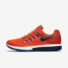 NIKE MENS AIR ZOOM VOMERO 10 UK SIZE 7.5-11 TOTAL CRIMSON RUNNING TRAINERS SHOES