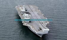 Navy Aircraft Carrier HMS Queen Elizabeth Color Photo Military 2017 USS Royal