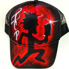 ICP hat | Graffiti style Juggalo snapback | airbrush custom hat design