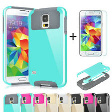 Shockproof Hybrid Rubber Hard Protective Cover Case for Samsung Galaxy S5 I9600