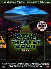 Mystery Science Theater 3000 Collection - Vol. 5 (DVD, 2004, 4-Disc Set) Good+