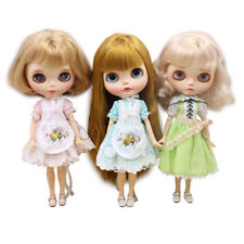 Dolls Lace Dress Skirt Clothes for 12inch Takara Blythe Dress Gown Outfits Accs