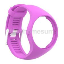 Silicone Rubber Wrist Strap Band & Metal Buckle For Polar A360 Fitness Watch